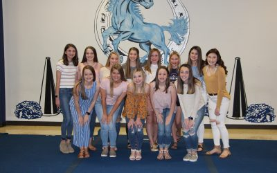 2019-2020 Freshman Cheerleaders