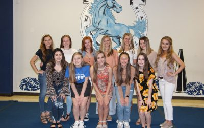 2019-2020 Junior Varsity Cheerleaders