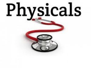 FHS Physicals – May 18th
